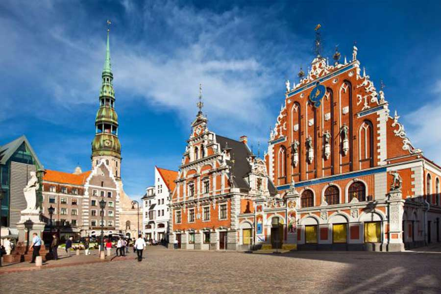Anfahrt Latvia Walldorf Consulting