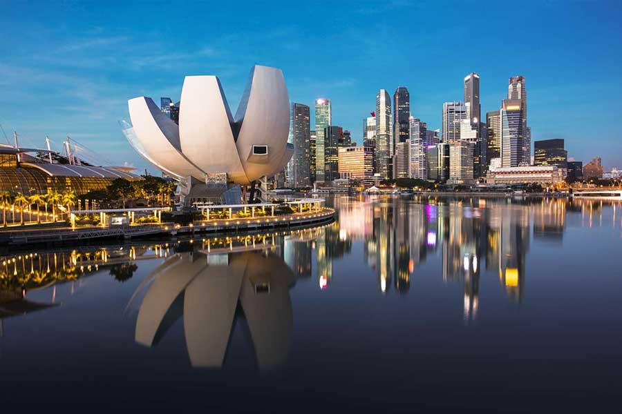 Anfahrt Singapore