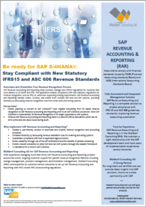 SAP Revenue Accounting and Reporting (RAR)